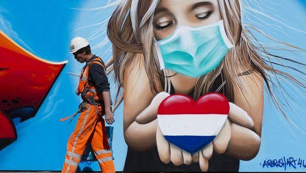 Hollanda koronavirüs - Sputnik Türkiye