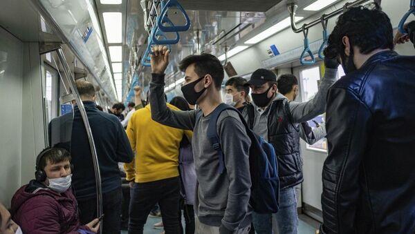 İstanbul  - toplu taşıma - koronavirüs - Sputnik Türkiye