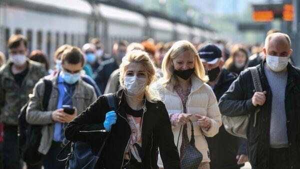 Koronavirüs salgını sürecinde Moskova - Sputnik Türkiye