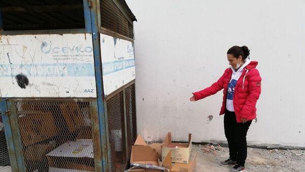 Geri dönüşüm noktasına bırakılan bebek korumaya alındı - Sputnik Türkiye