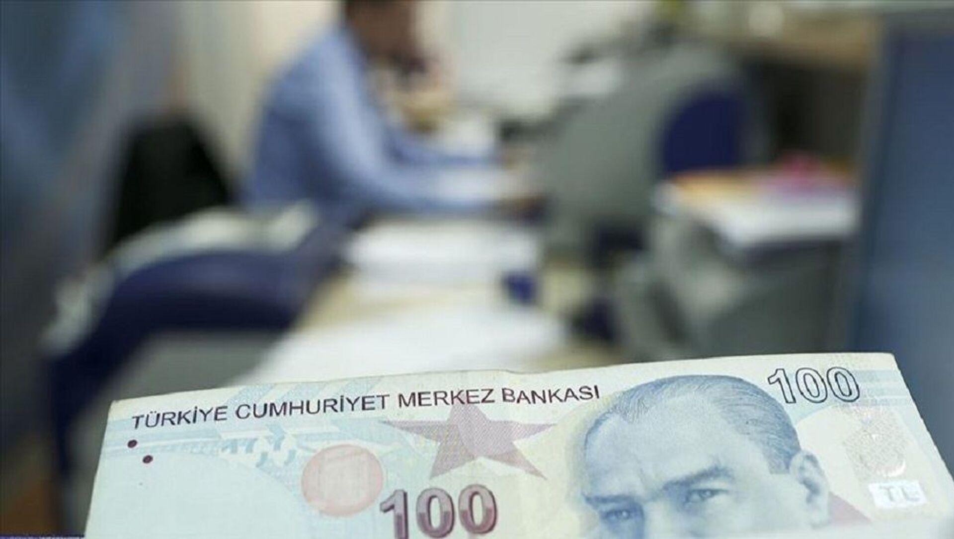 kısa çalışma ödeneği, türk lirası, banka, para - Sputnik Türkiye, 1920, 29.07.2021