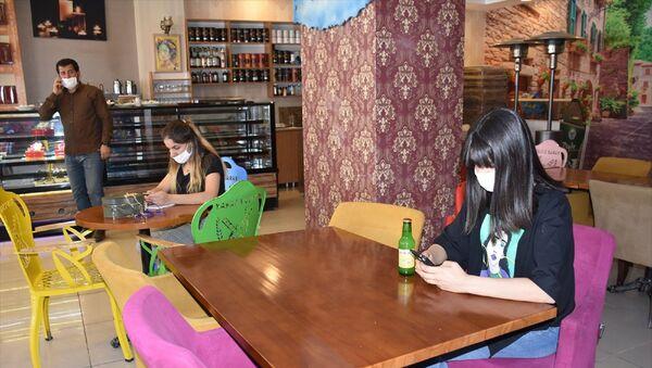 Şırnak - restoran + kafe  - normalleşme sürecine uygun hizmet veriliyor  - Sputnik Türkiye