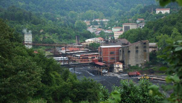 Türkiye Taş Kömürü Kurumu (TTK) Armutçuk Müessese Müdürlüğü'ne bağlı maden ocağı - Sputnik Türkiye