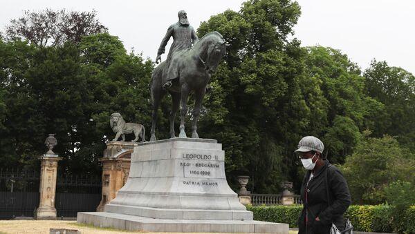 Belçika Kralı 2. Leopold heykeli - Sputnik Türkiye