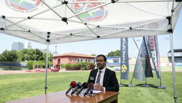Türkiye Atletizm Federasyon (TAF) Başkanı Fatih Çintimar - Sputnik Türkiye