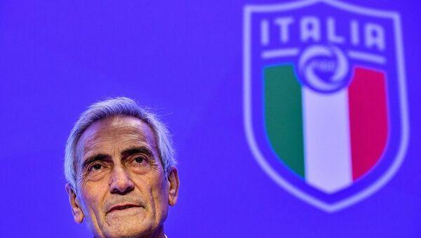 İtalya Futbol Federasyonu (FIGC) Başkanı Gabriele Gravina - Sputnik Türkiye