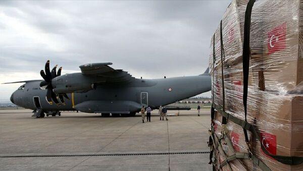 Afganistan ve Gine'ye tıbbi malzeme yardımı - Sputnik Türkiye