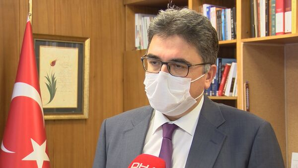 Prof. Dr. Tufan Tükek - Sputnik Türkiye