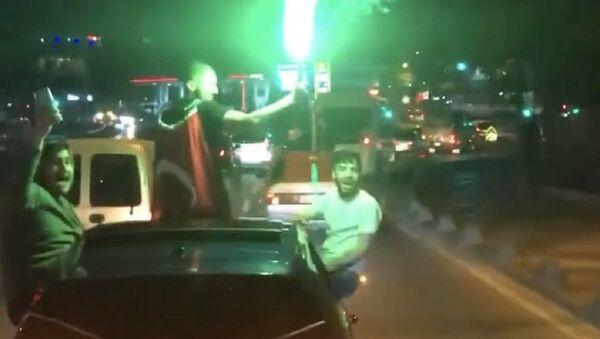 İstanbul asker uğurlaması - Sputnik Türkiye