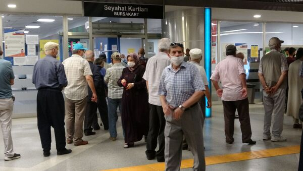 Bursa'daki 65 yaş üstüler - Sputnik Türkiye