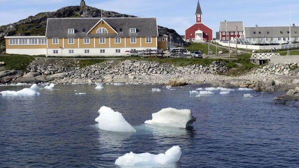 Grönland'ın başkenti Nuuk - Sputnik Türkiye