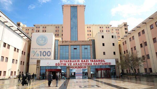 Diyarbakır Gazi Yaşargil Eğitim ve Araştırma Hastanesi - Sputnik Türkiye