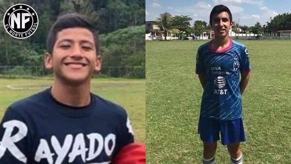 Meksika'nın Oaxaca eyaletine bağlı Acatlan kentinde 9 Haziran tarihinde polis tarafından vurularak öldürülen 16 yaşındaki genç futbolcu Alexander Gomez  - Sputnik Türkiye