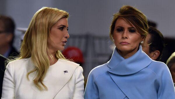 Melania Trump -  Ivanka Trump - Sputnik Türkiye