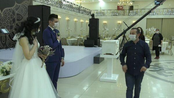 Düğün - koronavirüs - Sputnik Türkiye