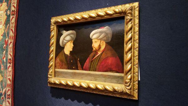 Fatih Sultan Mehmet'in özel koleksiyonda bulunan son portresi - Sputnik Türkiye