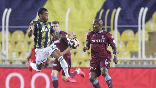 Ziraat Türkiye Kupası yarı final rövanş maçında Fenerbahçe ile Trabzonspor, Ülker Stadı'nda karşı karşıya geldi - Sputnik Türkiye