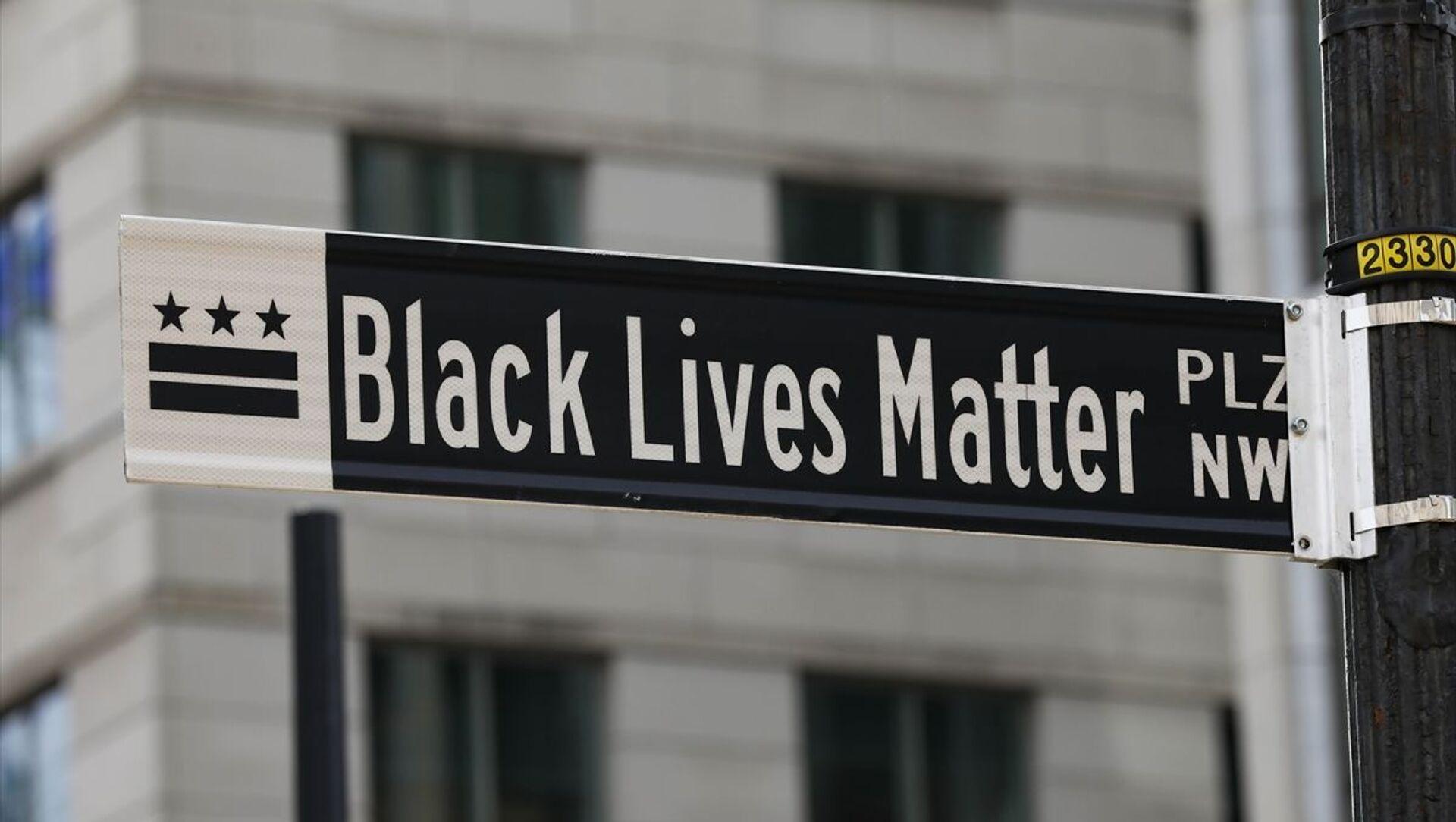 Beyaz Saray yakınlarındaki caddenin adı 'Black Lives Matter' olarak değiştirildi - Sputnik Türkiye, 1920, 19.05.2021