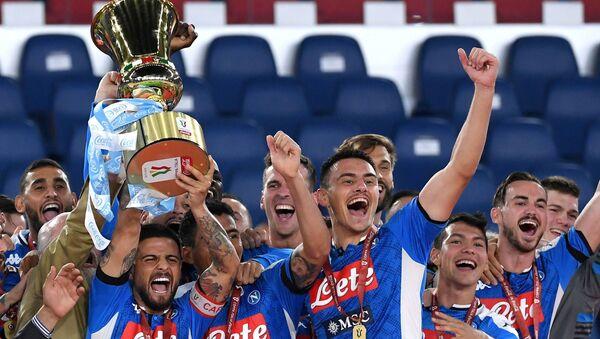 İtalya Kupası, Napoli - Sputnik Türkiye