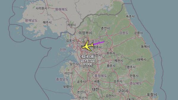 ABD Hava Kuvvetleri'ne ait istihbarat uçağının Kore Yarımadası üzerinde uçuş yaptığı bildirildi. - Sputnik Türkiye