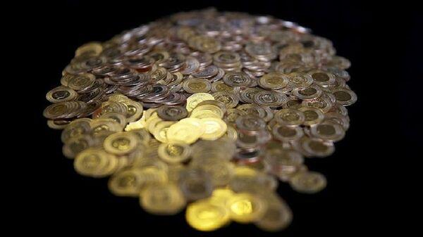 Altın, çeyrek altın, gram altın - Sputnik Türkiye