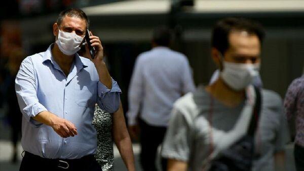maske, koronavirüs - Sputnik Türkiye