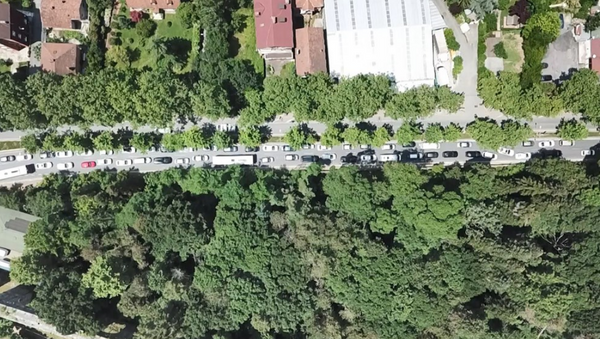 Babalar Günü'nde Belgrad Ormanı'na akın - Sputnik Türkiye