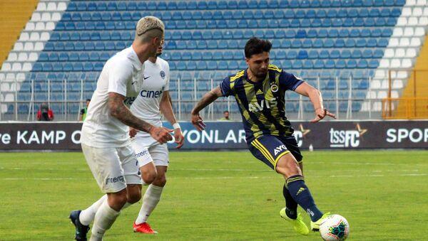 Süper Lig'in 28. haftasında Kasımpaşa, evinde Fenerbahçe'yi konuk etti. Mücadele, Kasımpaşa'nın 2-0'lık üstünlüğüyle sonuçlandı. - Sputnik Türkiye