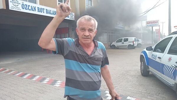 Okan Kocuk'un babası Özcan Kocuk - Sputnik Türkiye