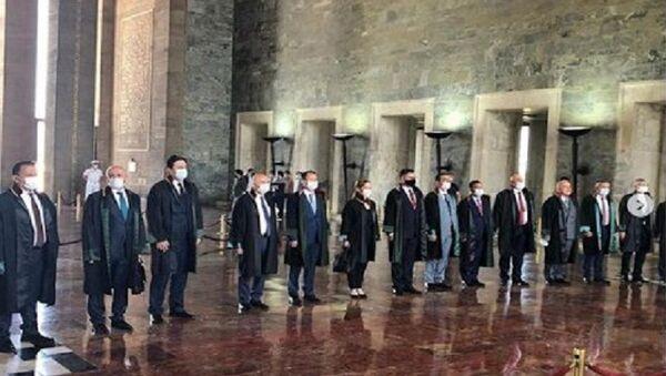 Metin Feyzioğlu, Anıtkabir - Sputnik Türkiye
