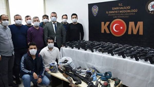 Uluslararası silah kaçakçılığı yapan örgüte operasyon: 13 gözaltı - Sputnik Türkiye