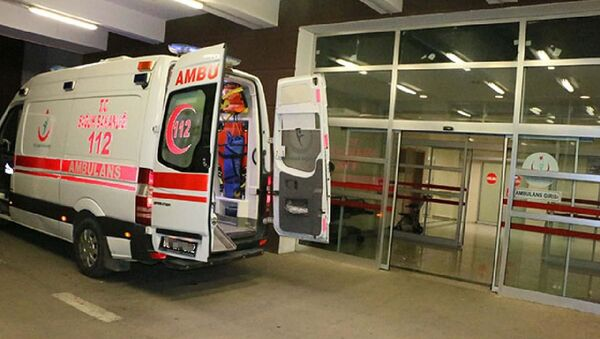 Koronavirüs, Hastane, Ambulans - Sputnik Türkiye