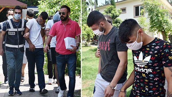 4 ev soyan fenomen ve 3 arkadaşı, işler yolunda gitsin diye dilenciye para vermiş - Sputnik Türkiye