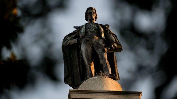 John C. Calhoun'un heykeli - Sputnik Türkiye