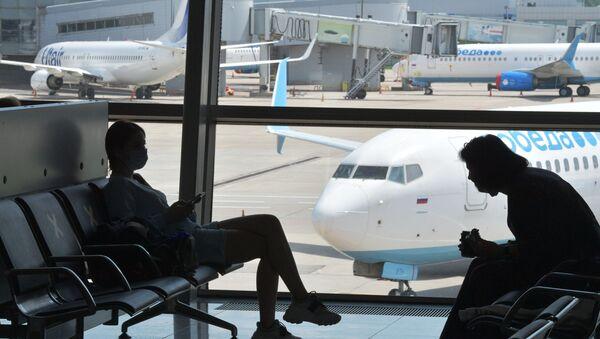 Rusya - havalimanı - Sputnik Türkiye