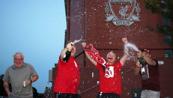 Liverpool, şampiyon - Sputnik Türkiye