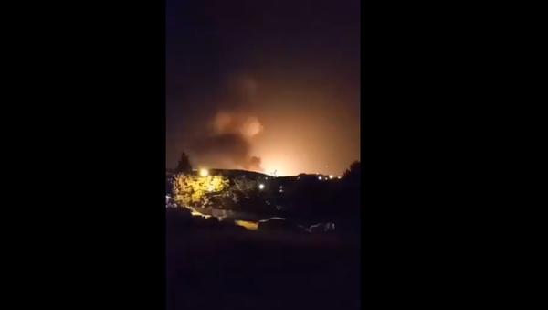 Tahran, patlama - Sputnik Türkiye