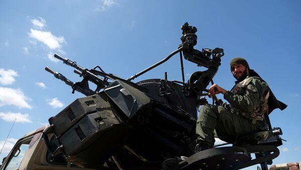 Halife Hafter'e bağlı Libya Ulusal Ordusu - Sputnik Türkiye