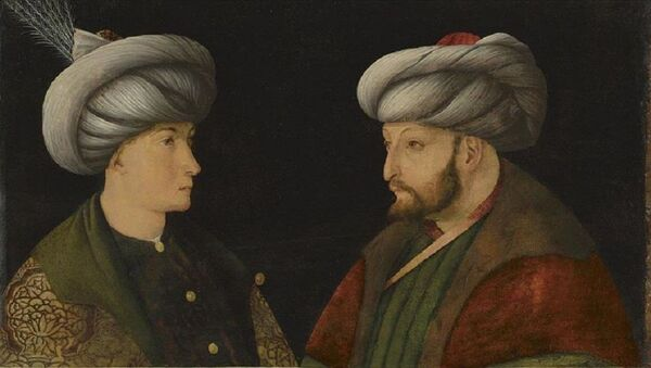 Fatih Sultan Mehmet'in portresi - Sputnik Türkiye