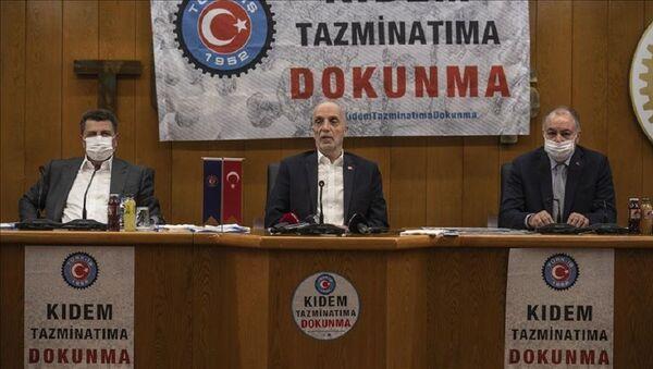 Türk-İş, Ergün Atalay - Sputnik Türkiye