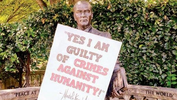 ABD'de Atatürk heykeline saldırı - Sputnik Türkiye