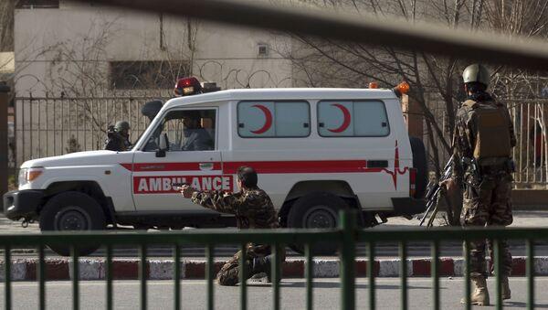Afganistan - ambulans - Sputnik Türkiye