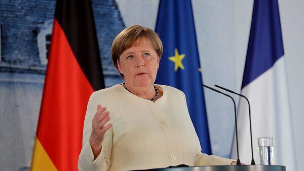 Almanya Başbakanı Merkel - Sputnik Türkiye