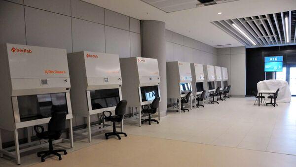 İstanbul Havalimanı'nda koronavirüs test merkezi kuruldu - Sputnik Türkiye