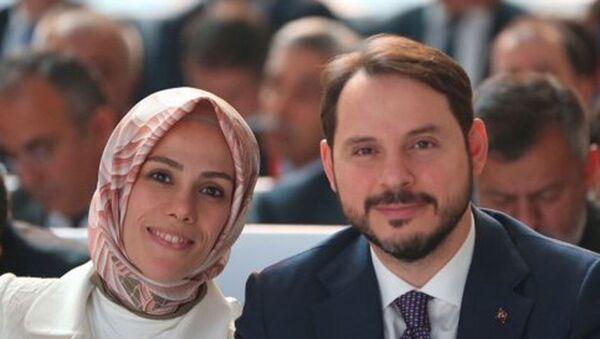 Berat Albayrak - Esra Albayrak - Sputnik Türkiye