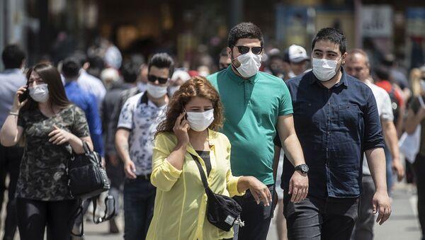 Ankara - maske - Sputnik Türkiye