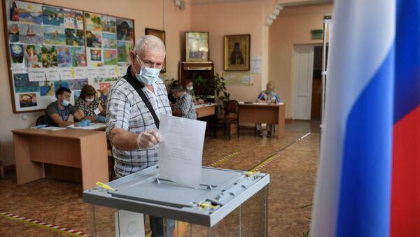 Rusya-Kırım-anayasal düzenlemelere yönelik referandum - Sputnik Türkiye