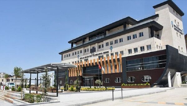 'Nuh'un Gemisi' görünümlü Şırnak Belediye hizmet binası - Sputnik Türkiye