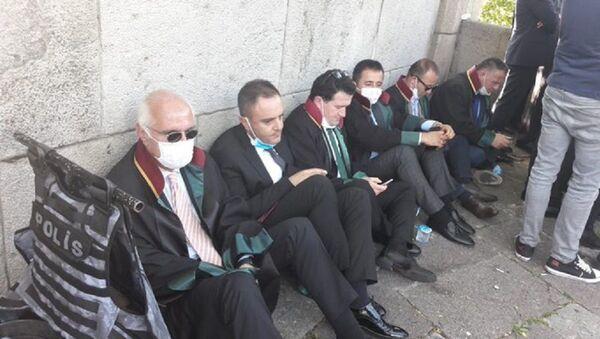 Baro başkanları Meclis kapısında - Sputnik Türkiye