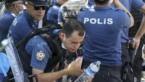 Ankara Adliyesi - polis - Sputnik Türkiye